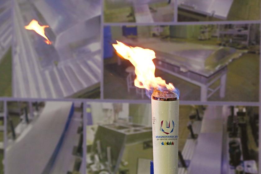 Top athletes among flame bearers for Krasnoyarsk 2019 Torch Relay