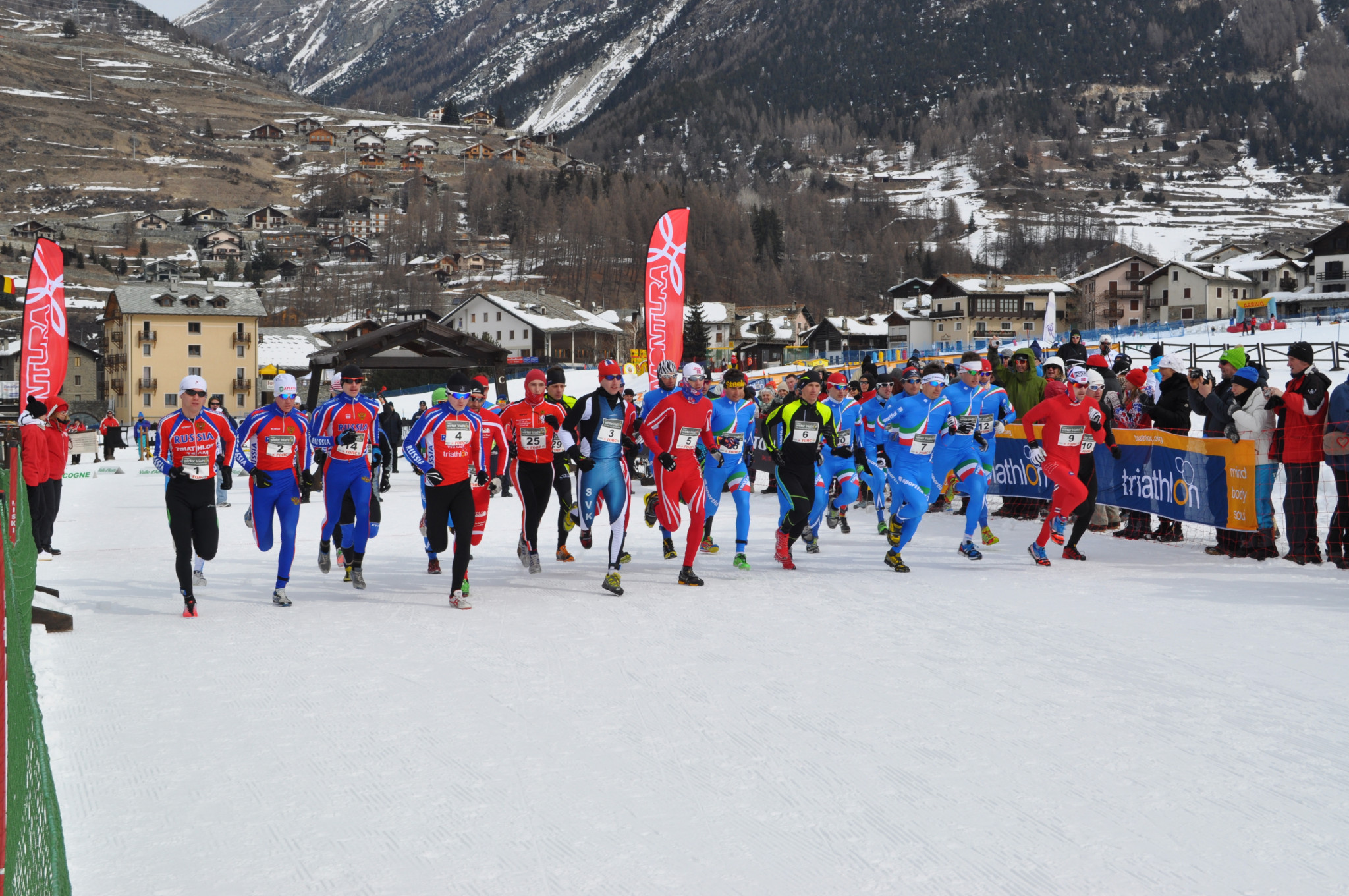 Asiago is set to welcome the world's top winter triathletes at next year's event ©European Triathlon