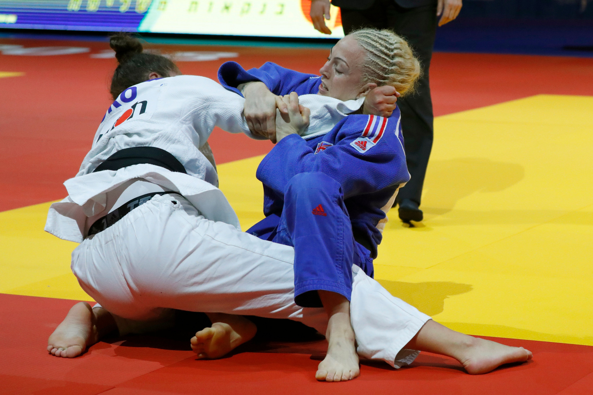 British Judo confirm 14 member team for World Championships in Baku