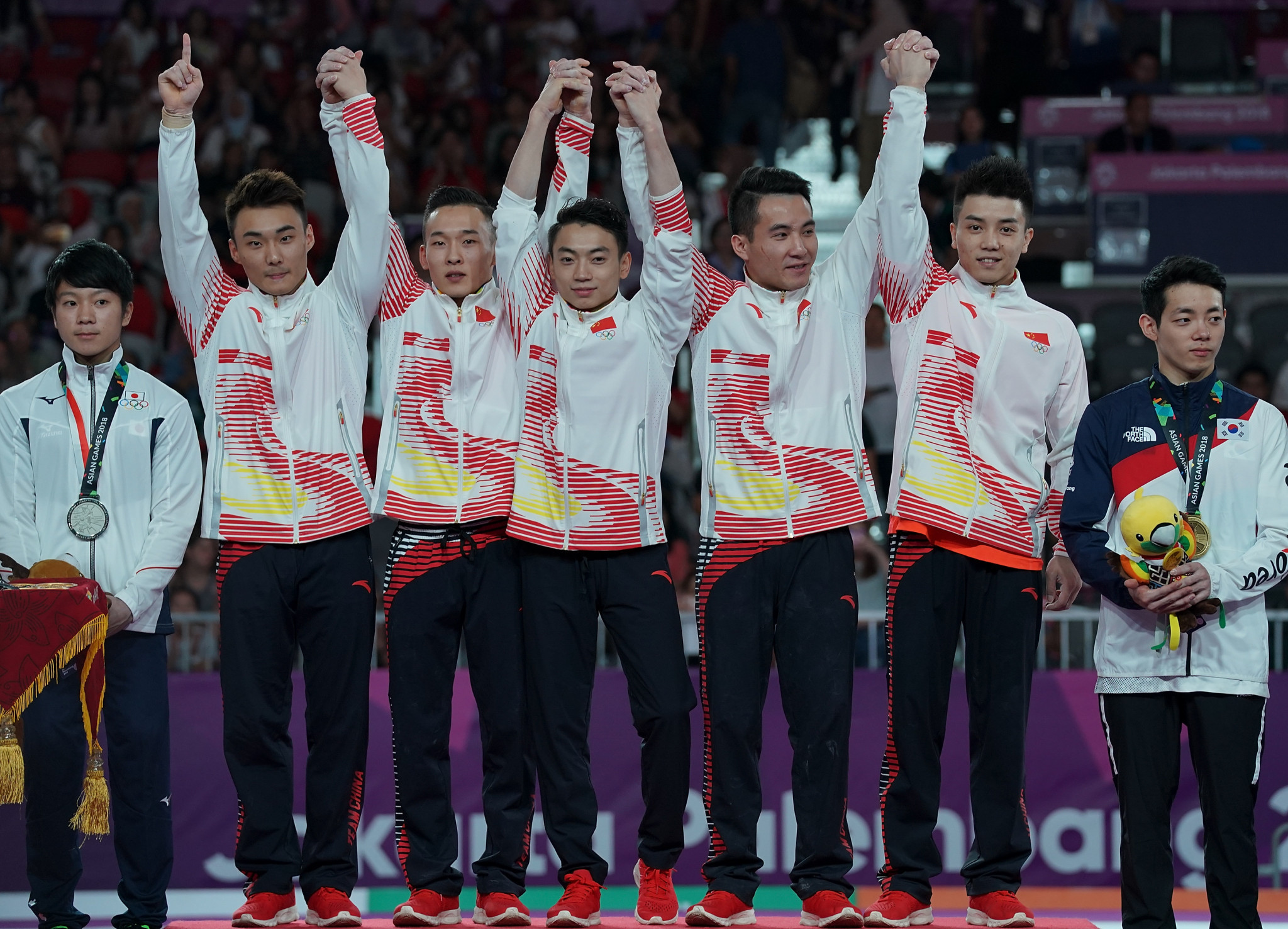 China march on as medal wave continues at 2018 Asian Games