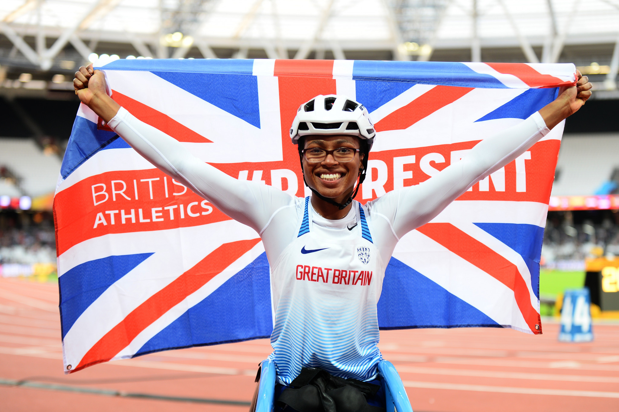 Adenegan sets record to win T34 100 metres gold at World Para Athletics European Championships