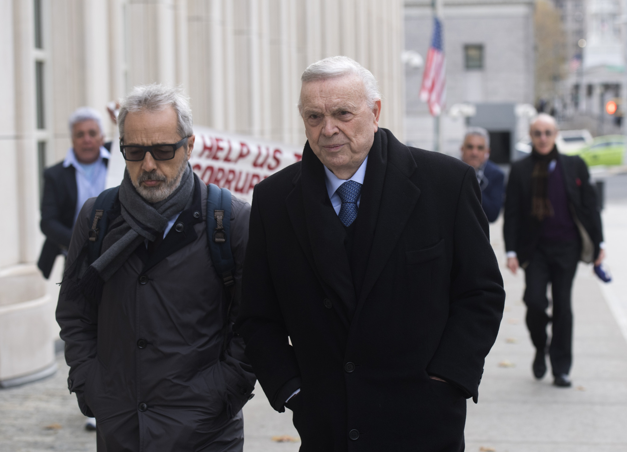 Jose Maria Marin, right, has been sentenced to four years in prison ©Getty Images