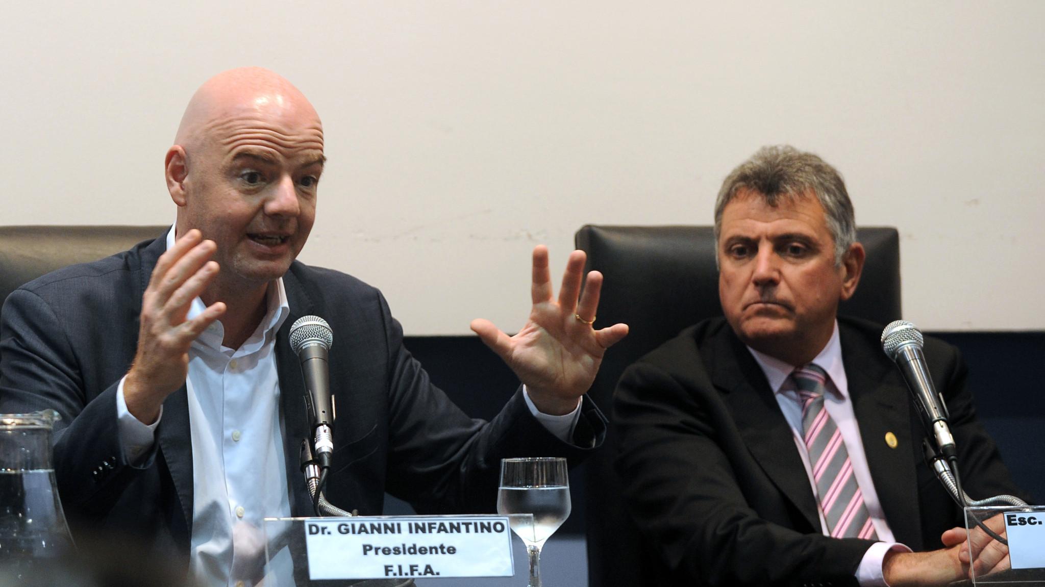 Incumbent AUF President Wilmar Valdez's sudden resignation plunged Uruguayan football into crisis ©Getty Images