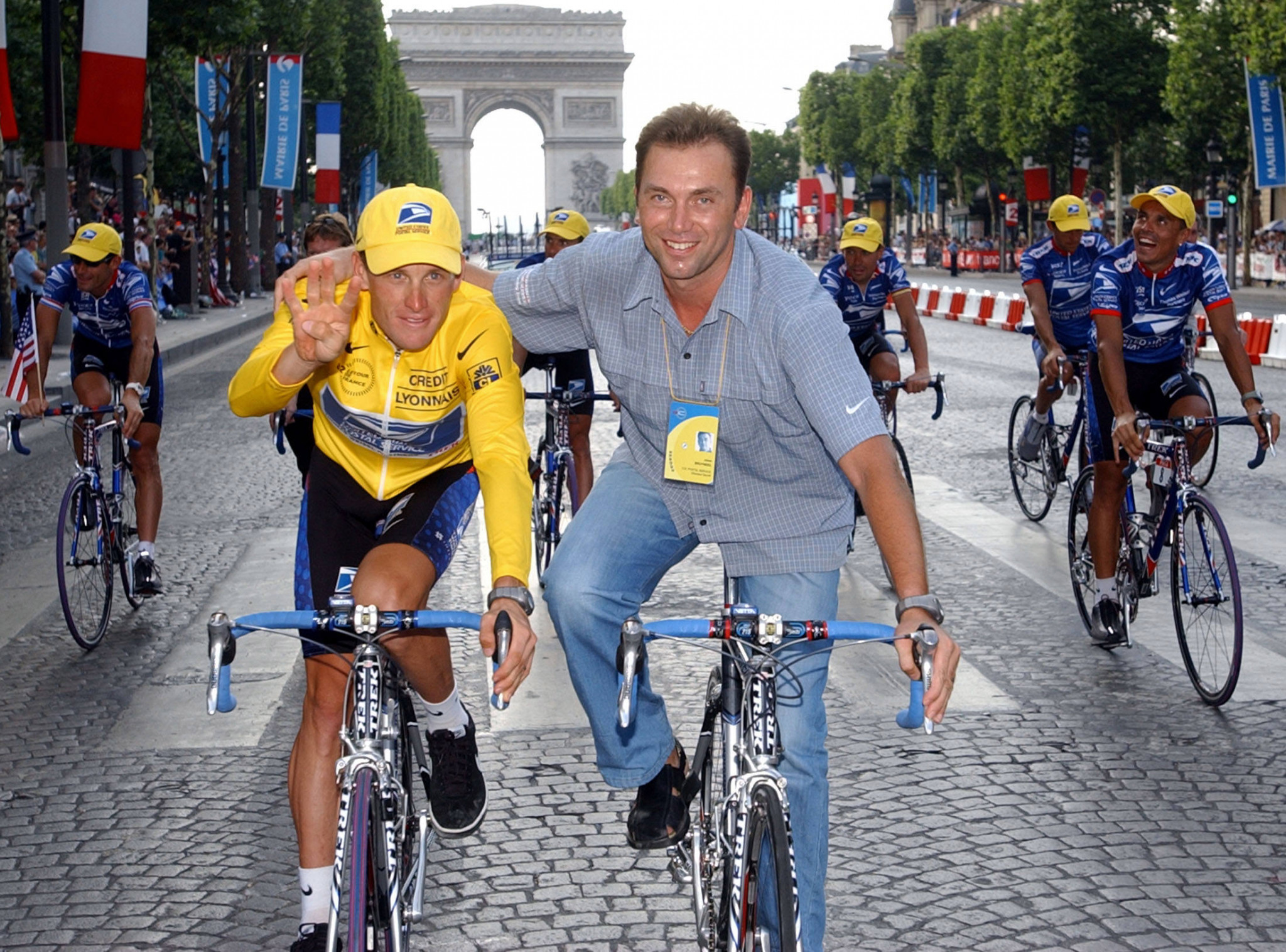 The civil case brought against Lance Armstrong and Johan Bruyneel is now at an end ©Getty Images