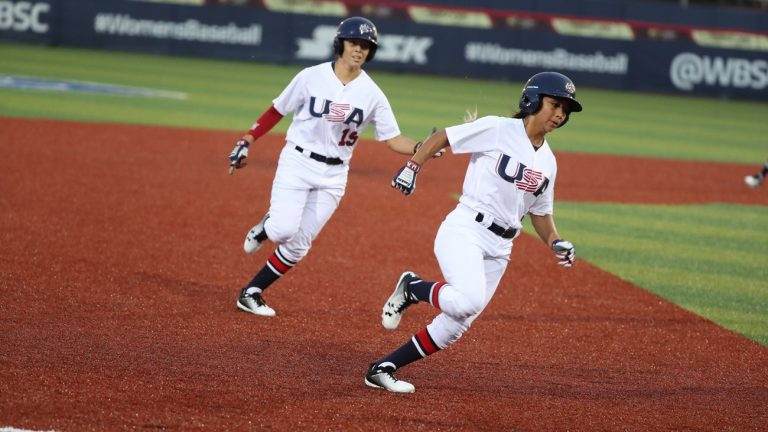 Hosts United States enjoy huge win as Women's Baseball World Cup opens