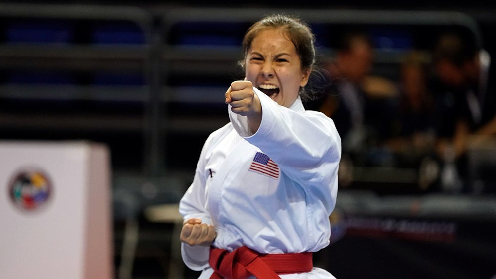 United States enjoyed a successful opening day of competition ©WKF