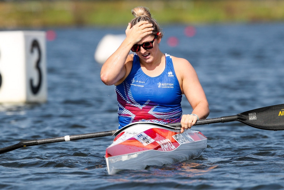 Henshaw edges team-mate to clinch maiden world title at ICF Canoe Sprint and Paracanoe World Championships