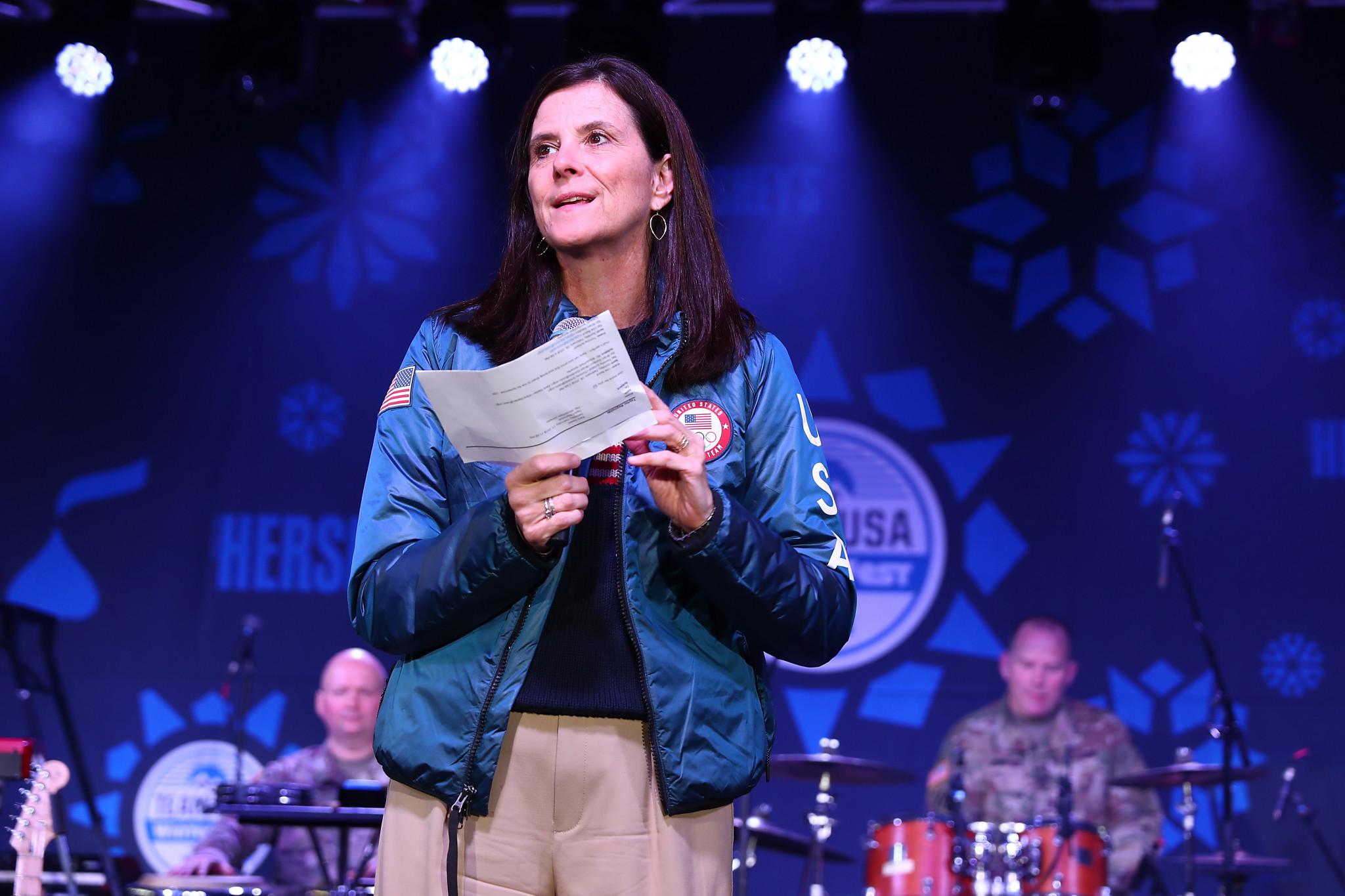Lisa Baird struck numerous deals on behalf of USOC ©Getty Images