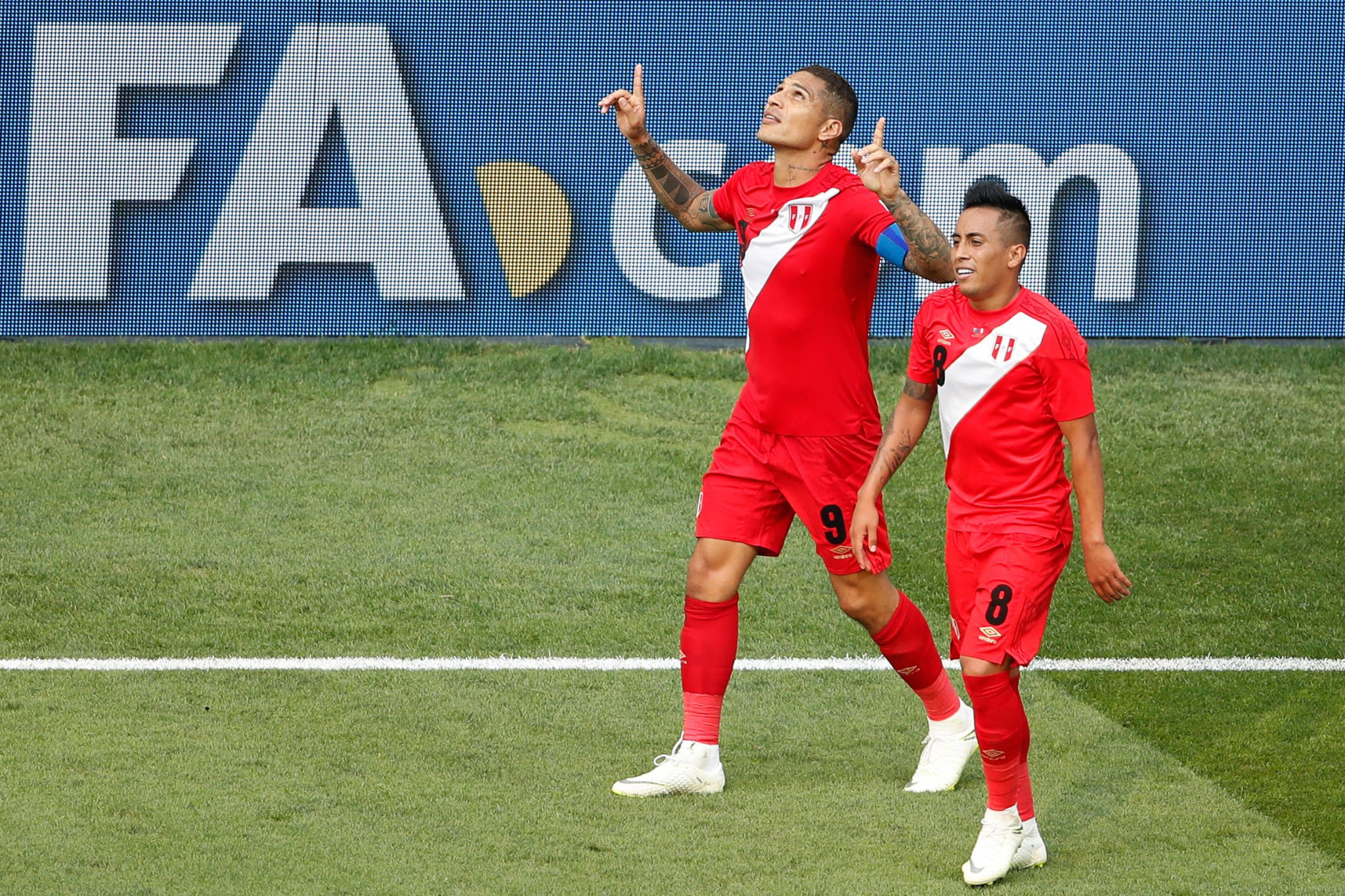 Paolo Guerrero scored for Peru against Australia at the FIFA World Cup, but his side exited after the group phase ©Getty Images