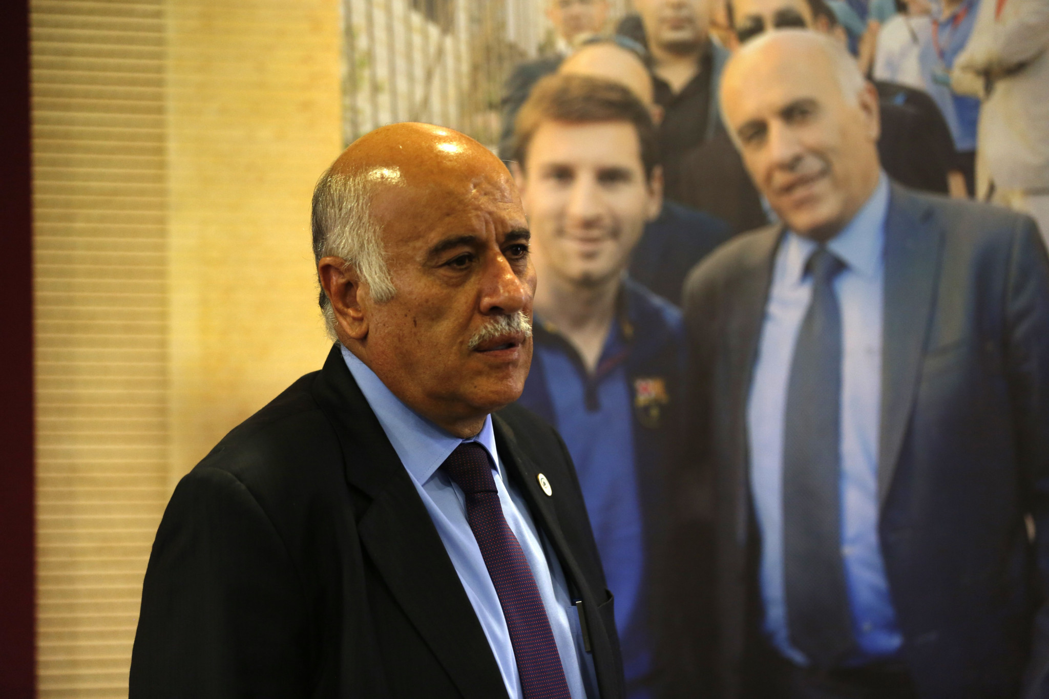 PFA President Jibril Rajoub has been banned for 12 months by FIFA ©Getty Images