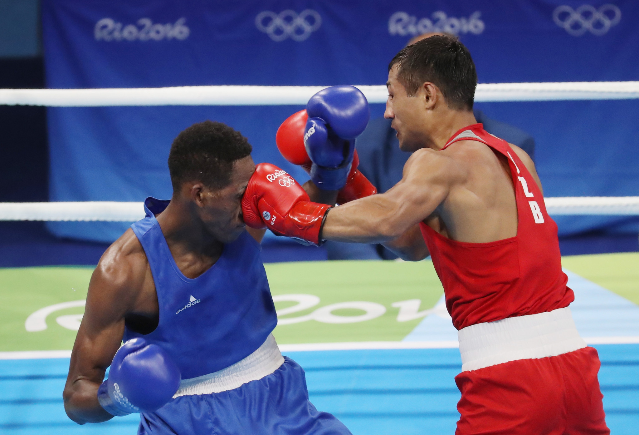 Boxing is currently fighting for its place on the Olympic programme ©Getty Images