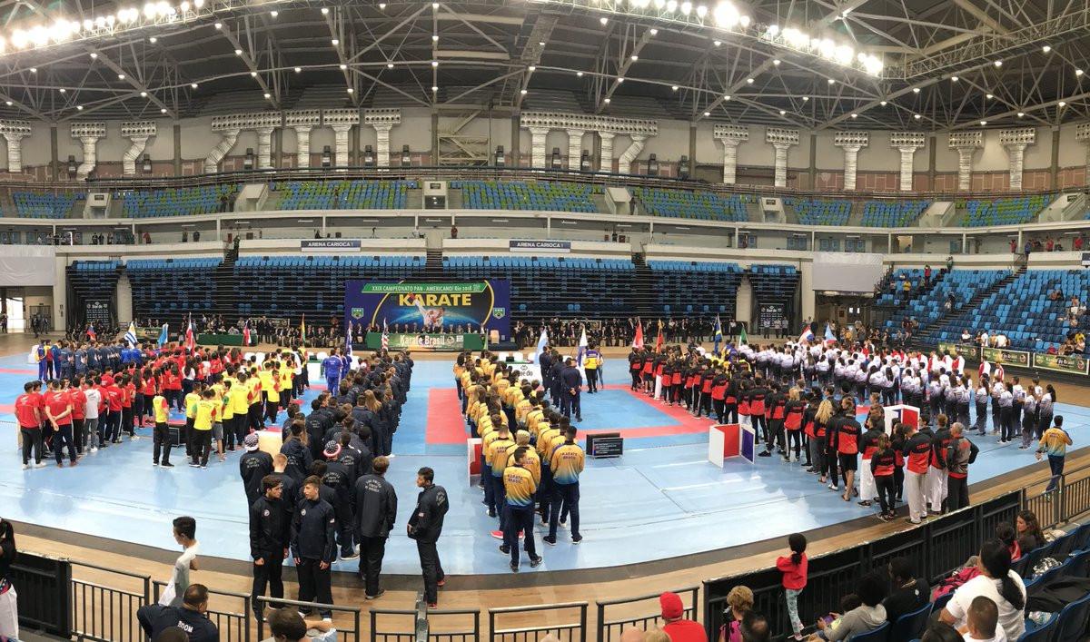 Venezuela enjoy day of kata gold at Pan American Karate Federation Junior, Cadet and Under-21 Championships