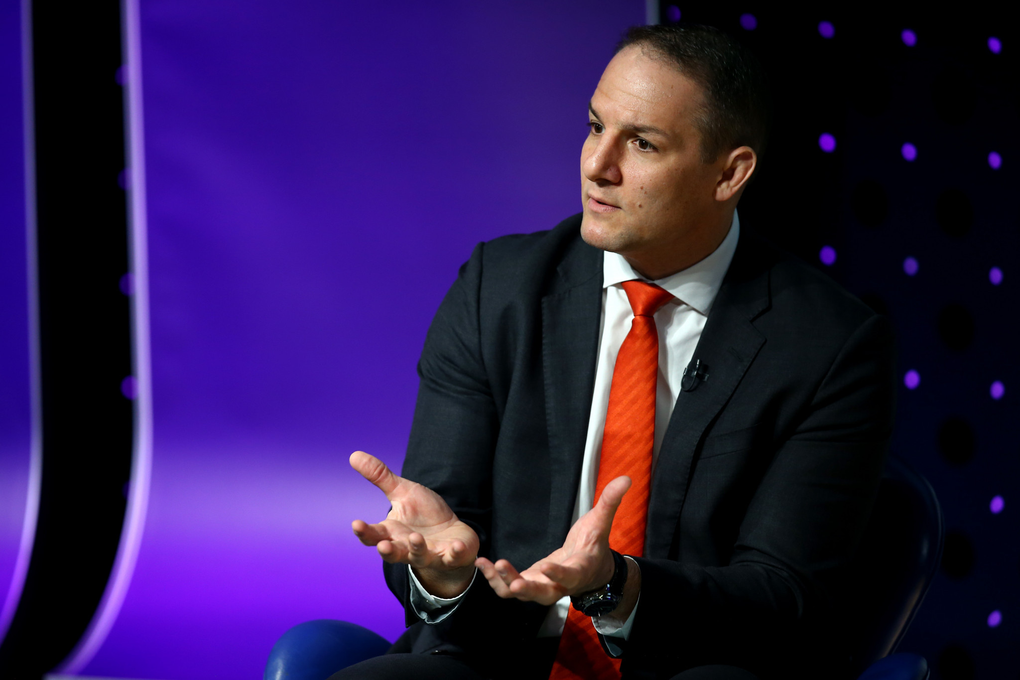 CGF chief executive David Grevemberg is expected to be among the delegation which will visit Adelaide next month ©Getty Images