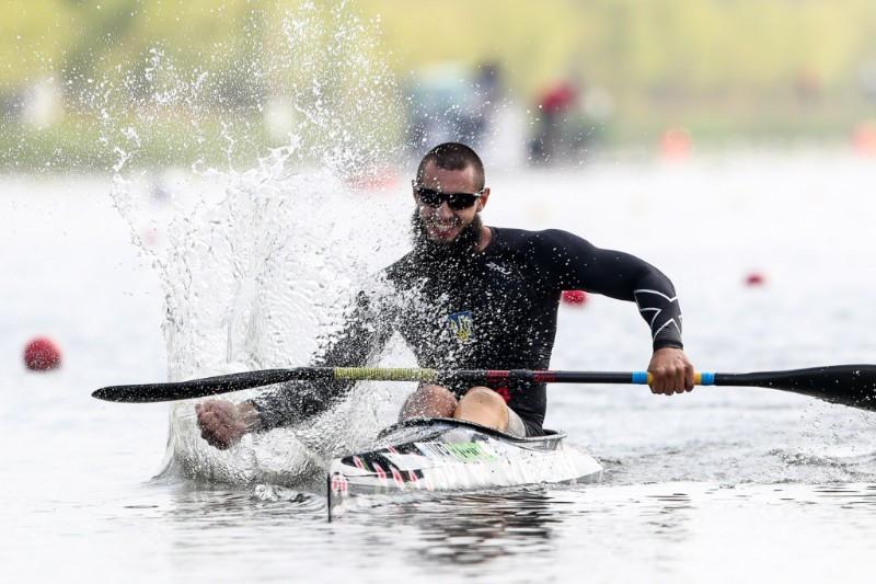 Serhii Yemelianov was one of two Para-world champions from Ukraine ©ICF