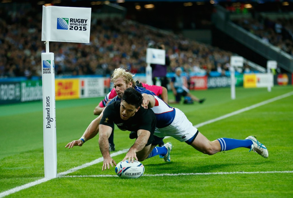 Holders New Zealand breeze past Namibia to maintain winning start to Rugby World Cup