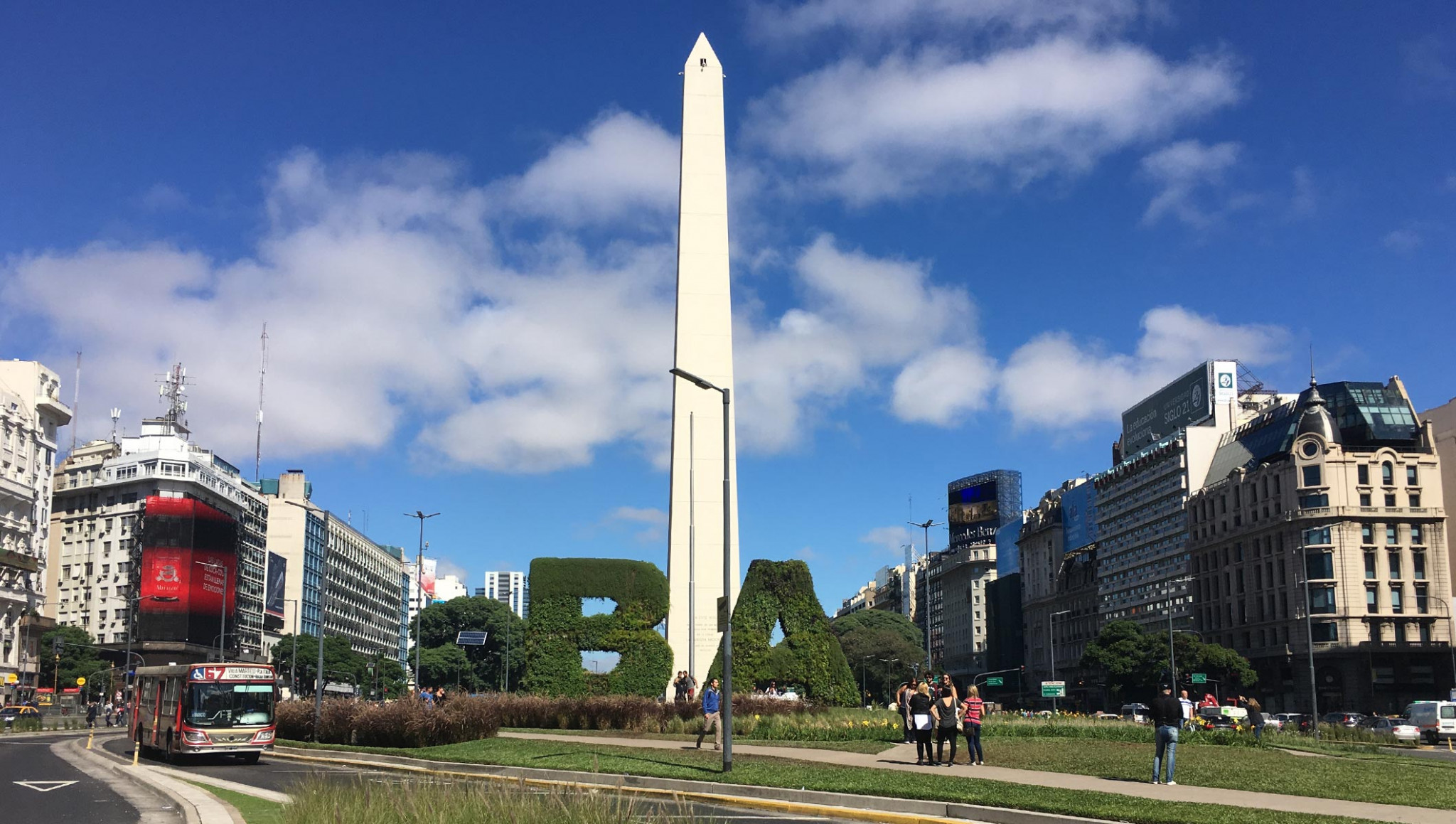 The Opening Ceremony will take place at the Buenos Aires Obelisk ©IOC