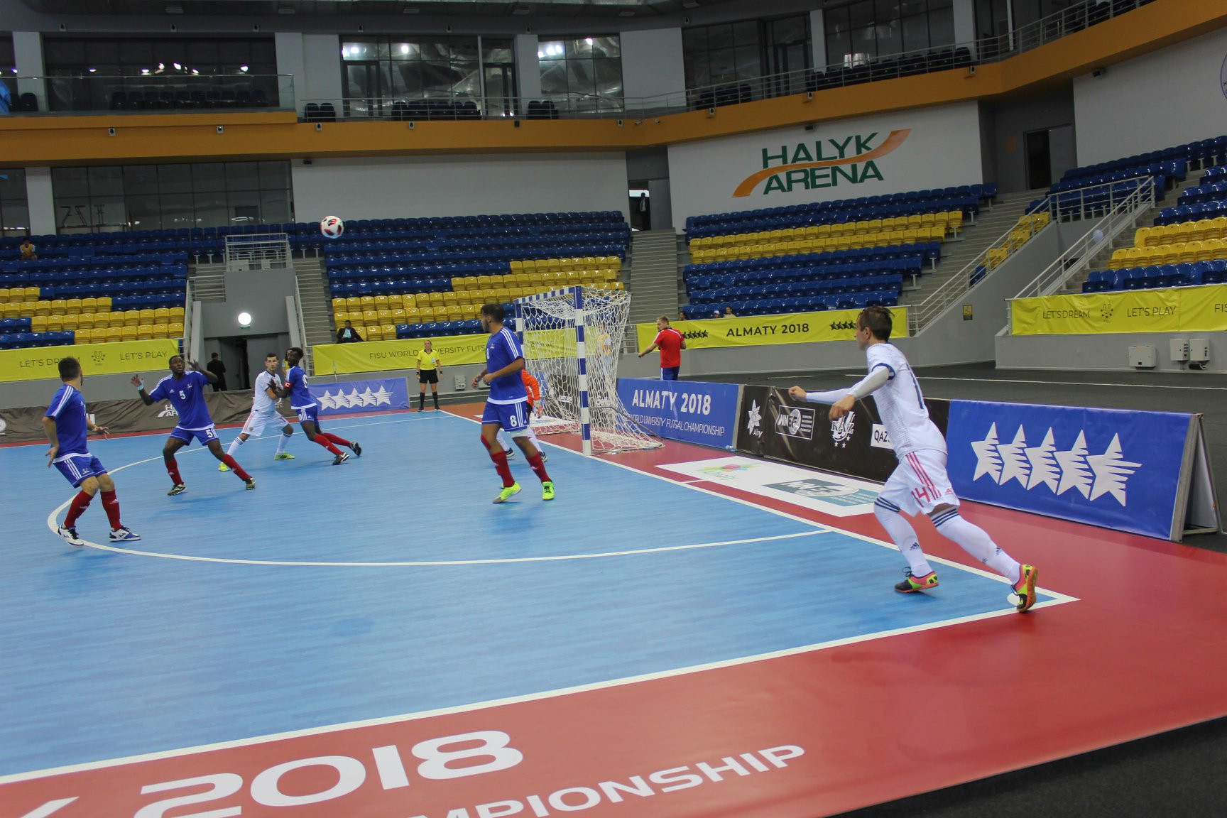Russia also booked their place in the men's final at the event in Almaty ©Facebook