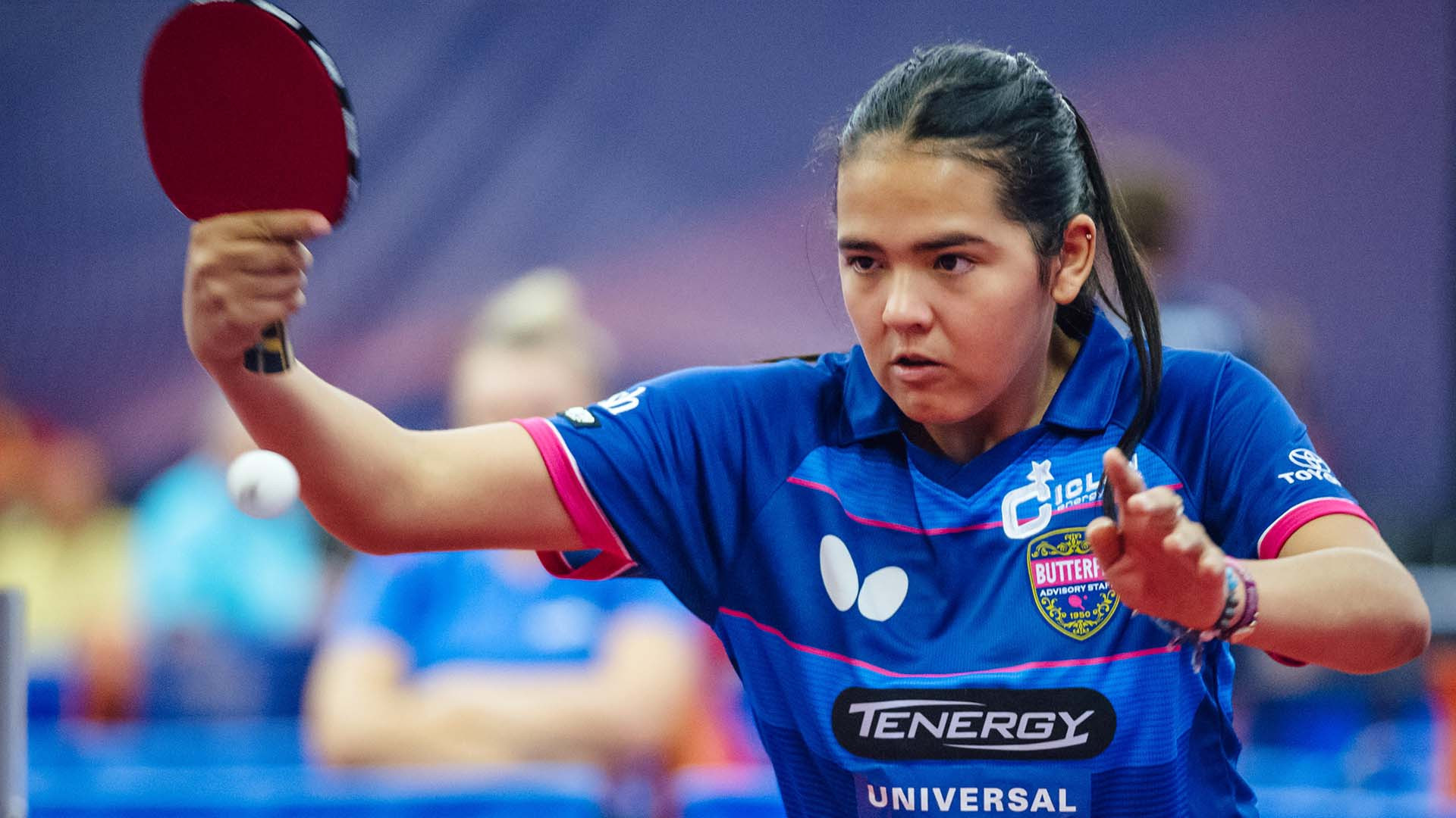 Puerto Rican teenager Diaz makes more history at ITTF Czech Open