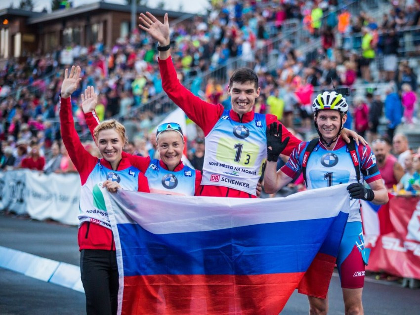 Russia clinch mixed relay gold at Summer Biathlon World Championships