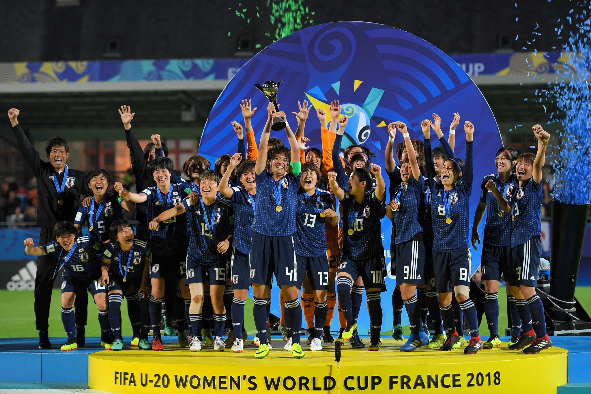 Japan beat Spain to win FIFA Under-20 Women's World Cup
