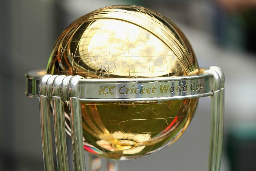 The ICC Cricket World Cup trophy tour will begin in Dubai next week ©ICC