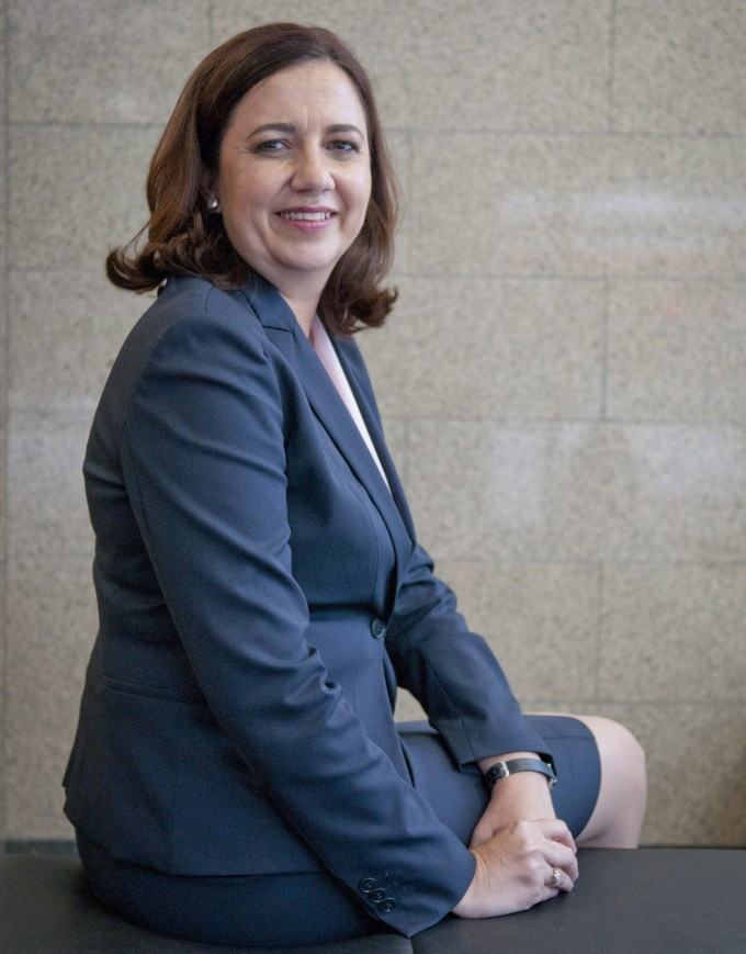 Queensland Premier Annastacia Palaszczuk has been dragged into a hotel bill row ©Getty Images