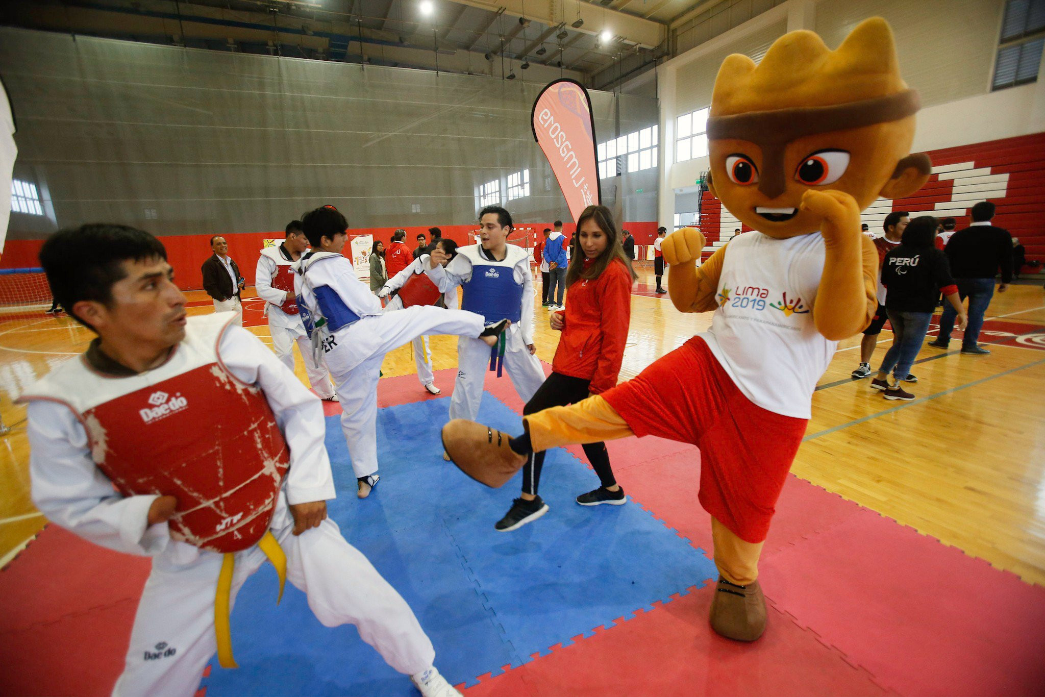 Lima 2019 host sporting event to mark one year to Parapan American Games