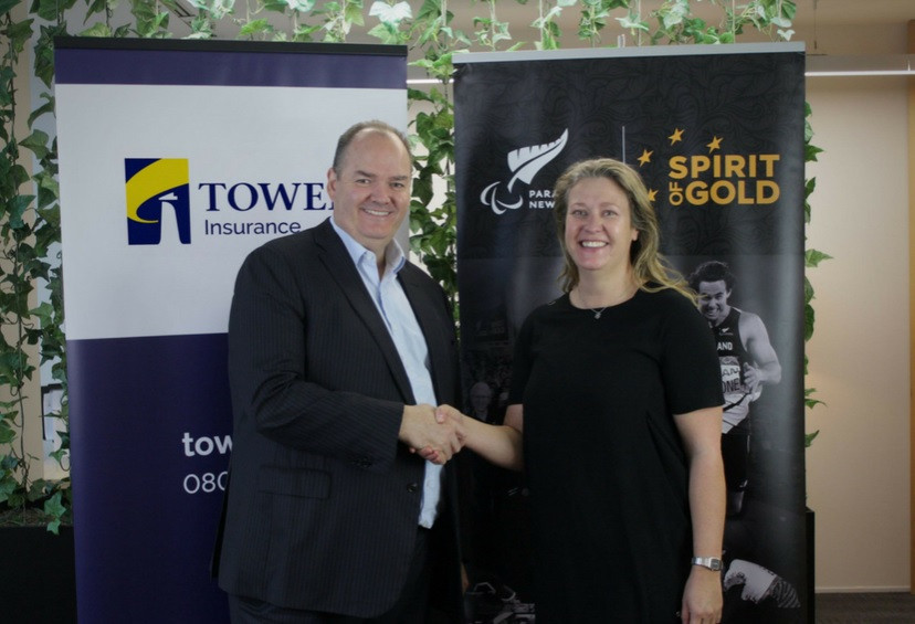 Paralympics New Zealand sign sponsorship deal with Tower Insurance