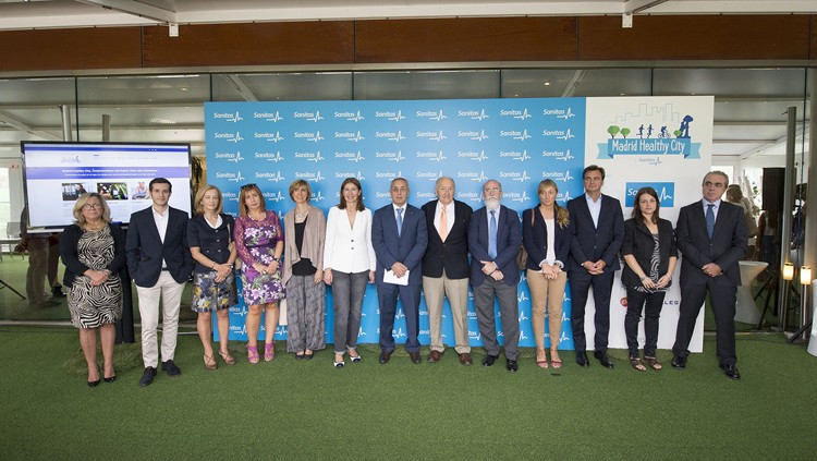 """Spanish Olympic Committee pledges support for """"Madrid Healthy City"""" scheme"""