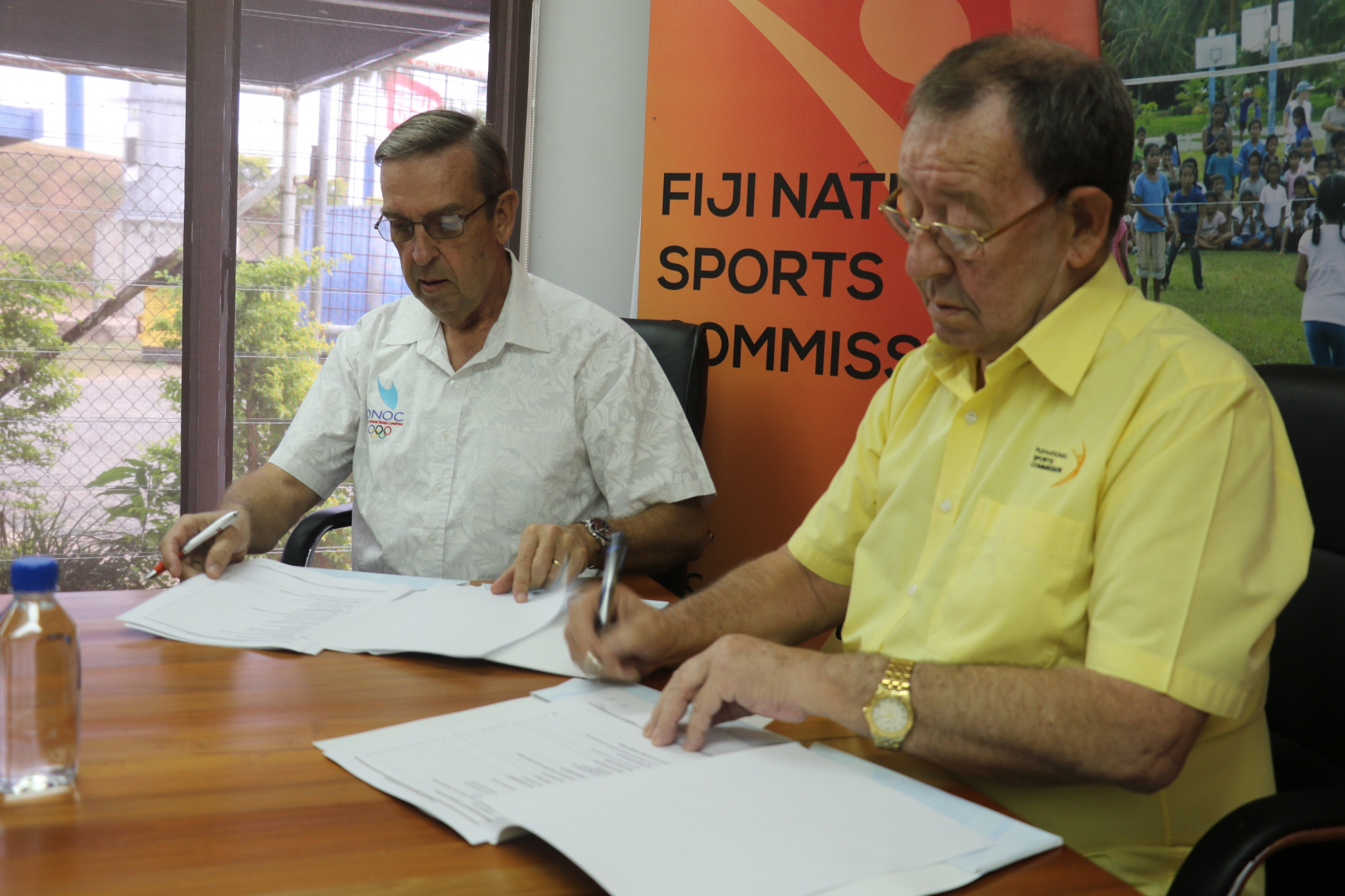 A deal has been struck between the Oceania National Olympic Committees and the Fiji National Sports Commission ©ONOC