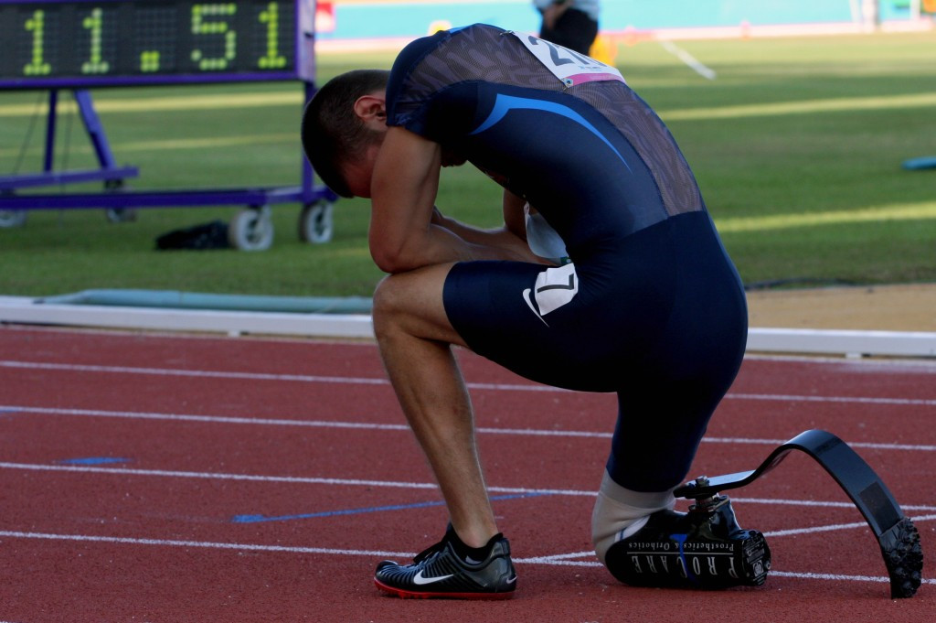World record holder Wallace stars in latest IPC Athletics World Championships promotional video