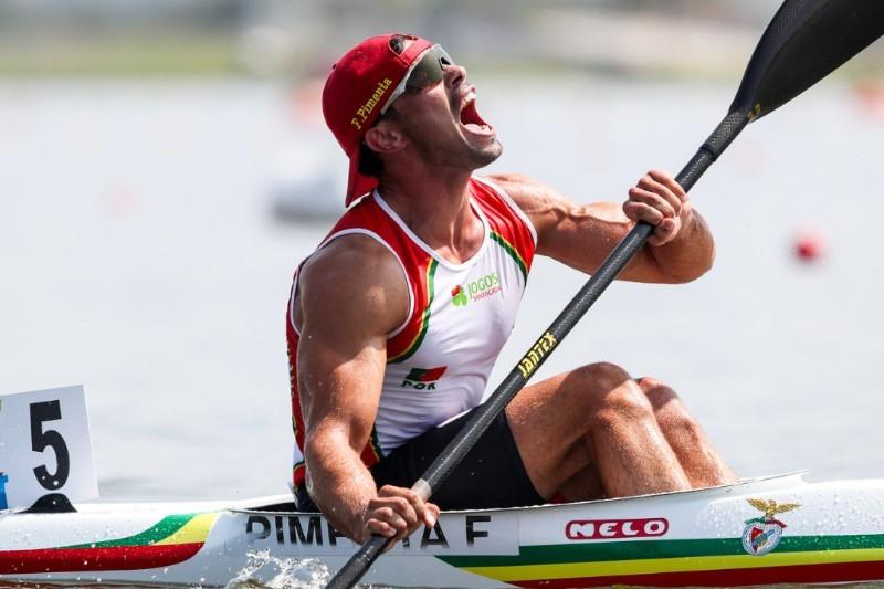 Home joy for Portugal's poster boy Pimenta at Canoe Sprint World Championships
