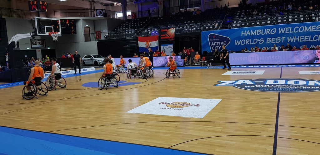 Netherlands beat Britain to win women's title at Wheelchair Basketball World Championships