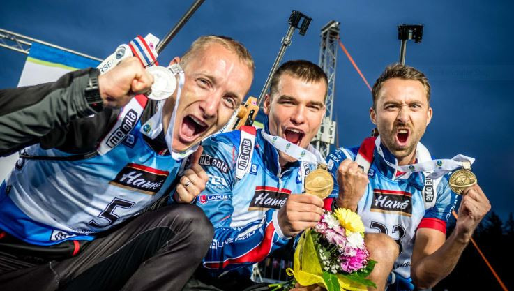 Krcmar leads Czech clean sweep in men's sprint at IBU Summer World Championships
