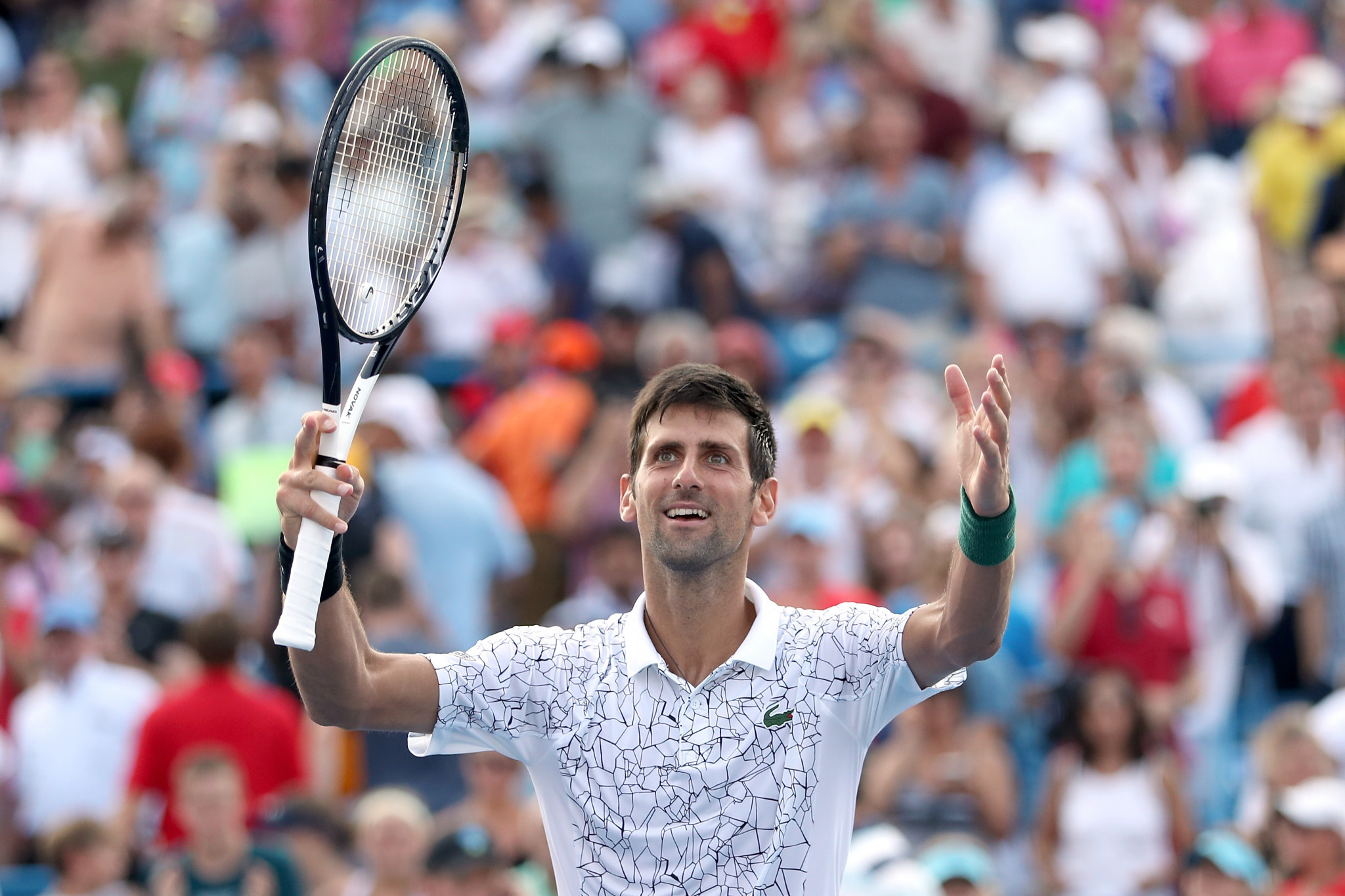 Novak Djokovic is favourite for the US Open men's title ©Getty Images