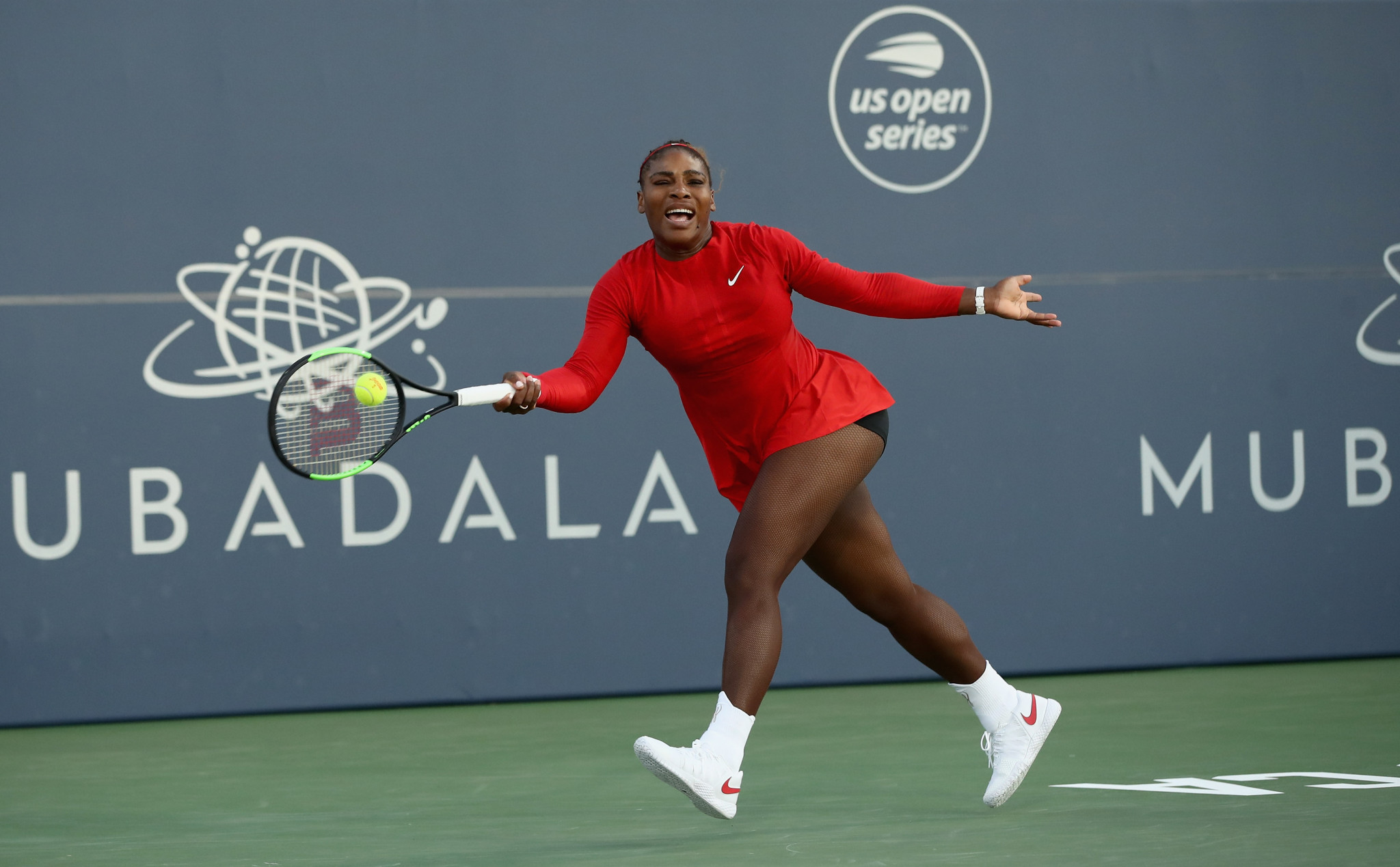 Serena Williams is targeting a seventh US Open title at Flushing Meadows ©Getty Images