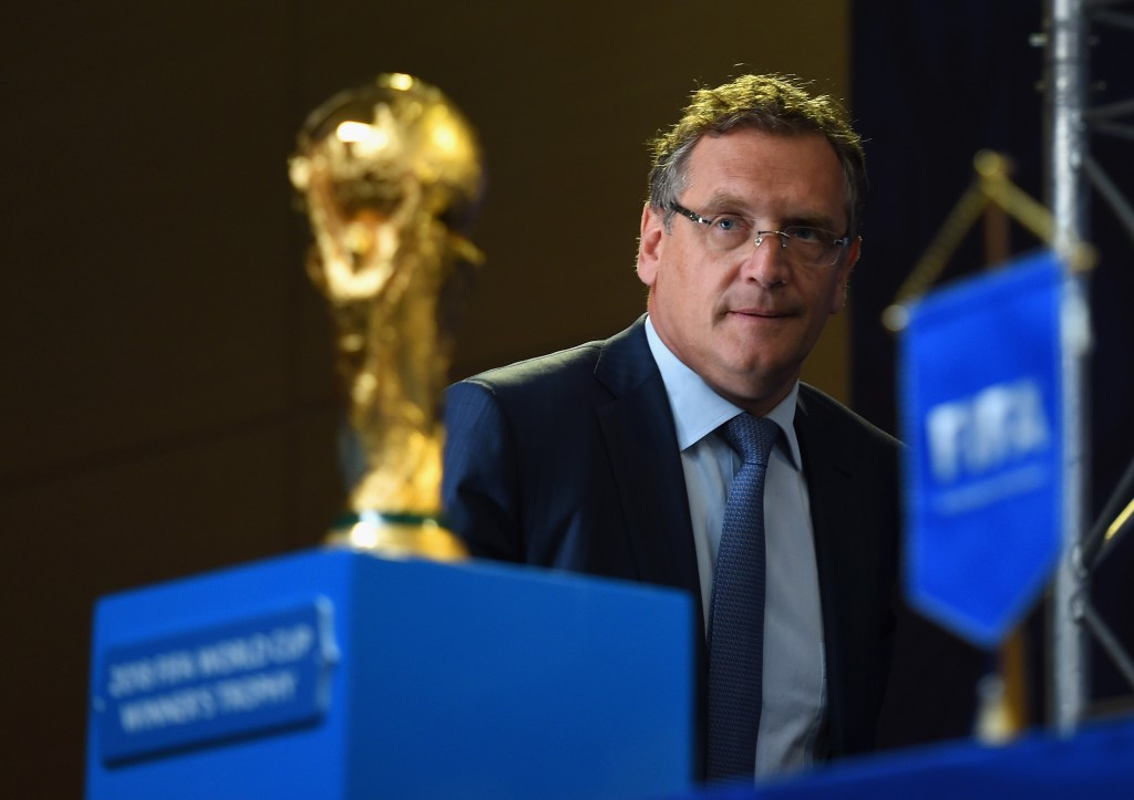 FIFA gives Swiss investigators access to e-mails of suspended secretary general Valcke