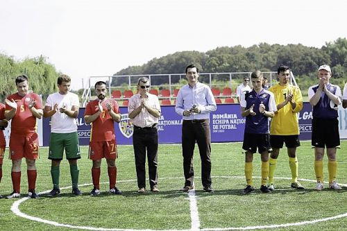 Romanian Football Federation unveil new facilities for blind football