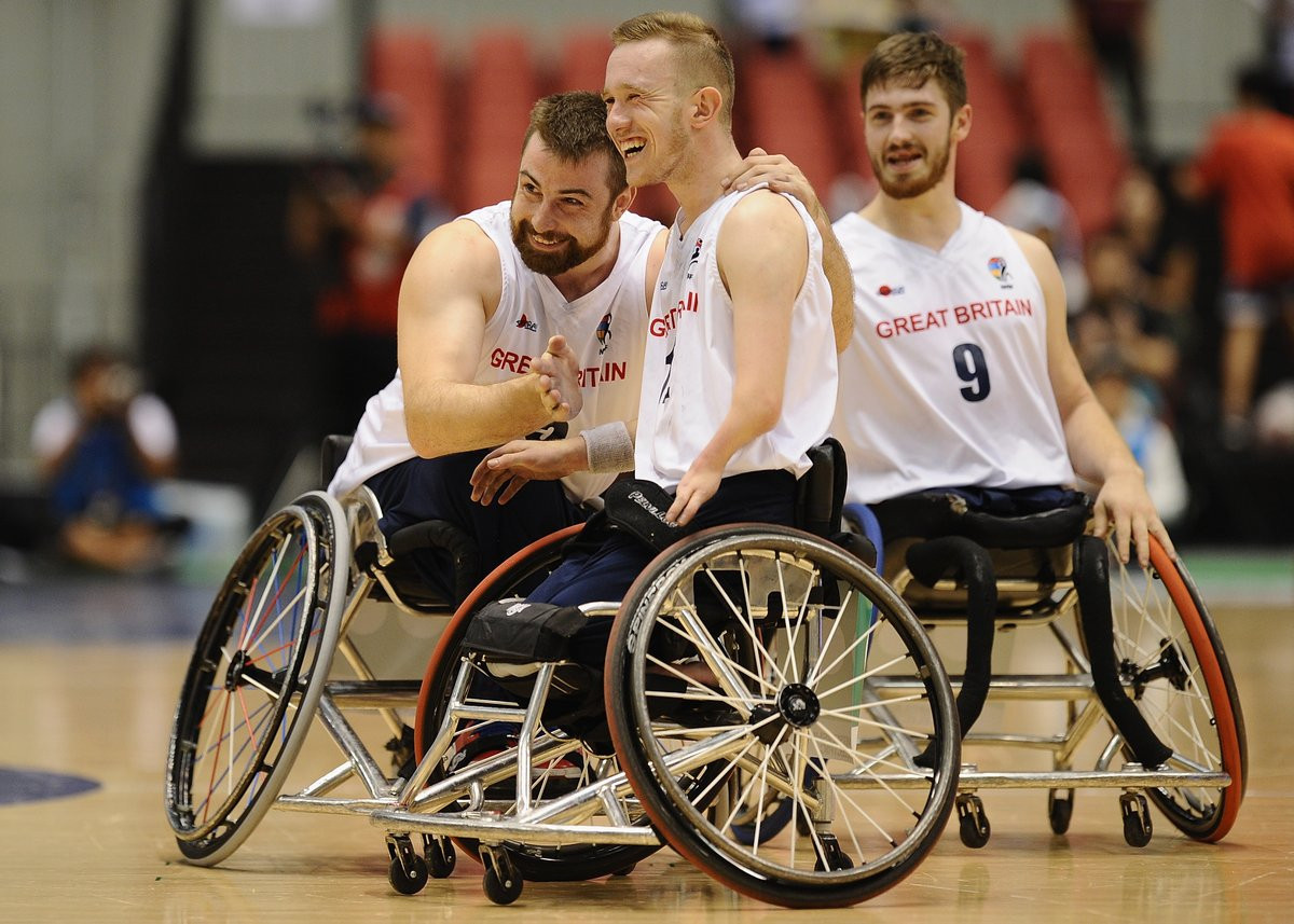 Britain stun Paralympic champions United States to claim men's Wheelchair Basketball World Championships title