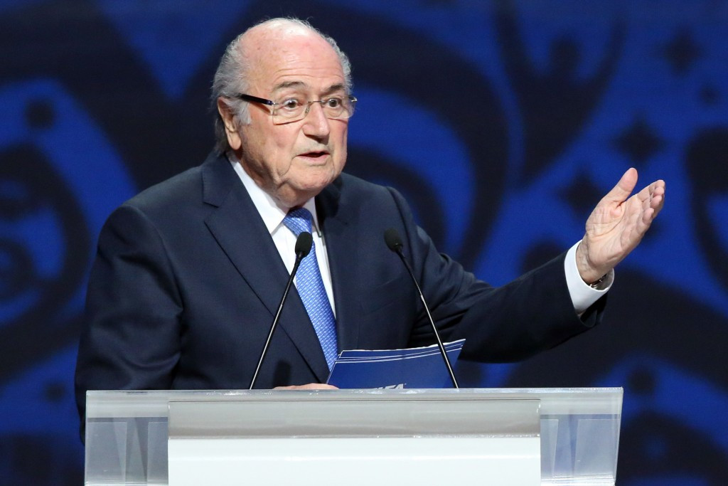 Chung announced his intention to sue outgoing FIFA President Sepp Blatter for embezzlement