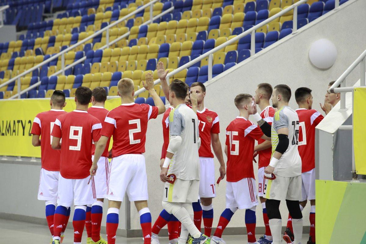 Russia swept the titles on offer at the World University Futsal Championships ©FISU