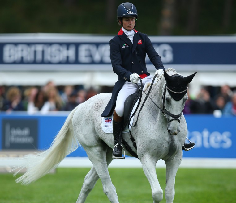 Francis Whittington was unable to compete in today's show jumping event ©Getty Images