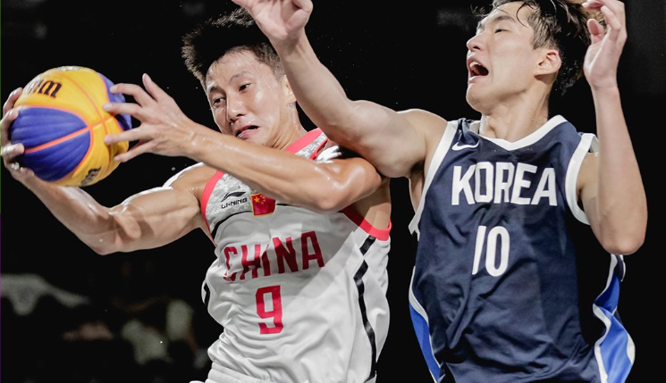 China seal men's and women's basketball 3x3 double at 2018 Asian Games