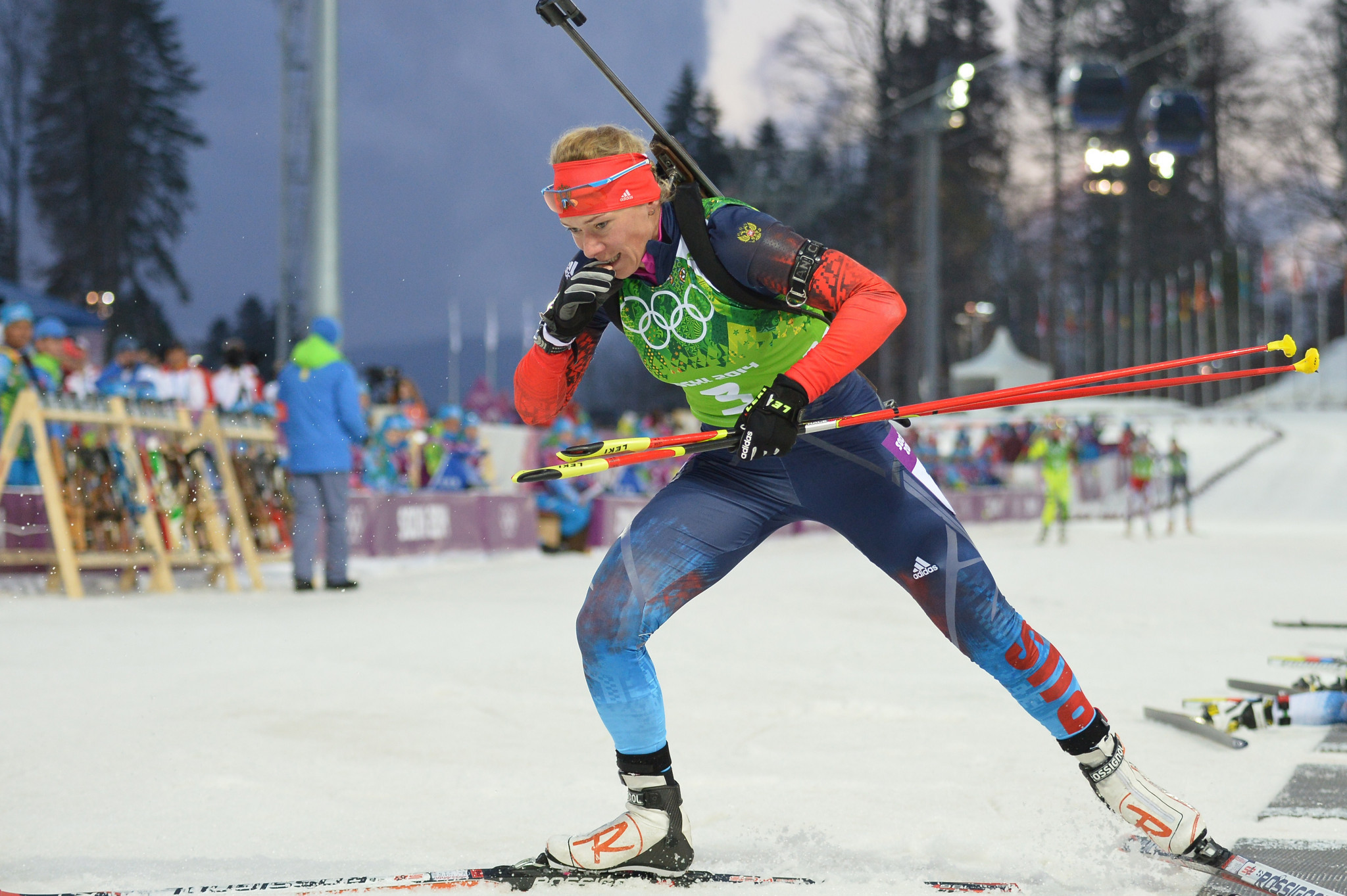Cases against three Russian biathletes have reportedly been postponed ©Getty Images