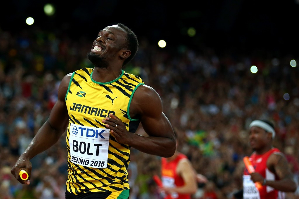 Usain Bolt says he is