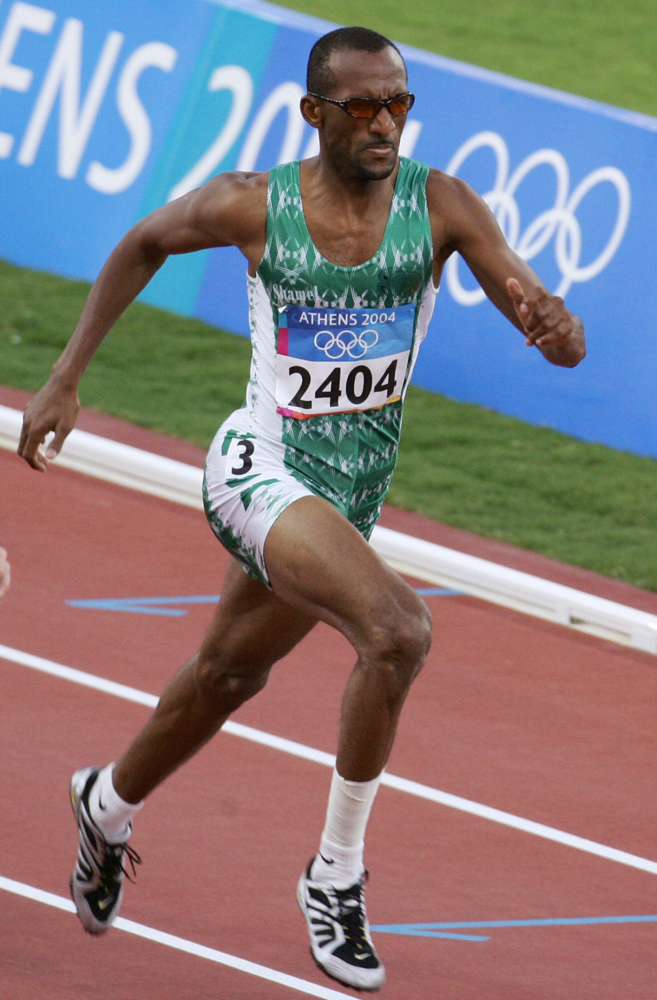 Hadi Al-Somaily won Olympic silver for Saudi Arabia at Sydney 2000 ©Getty Images