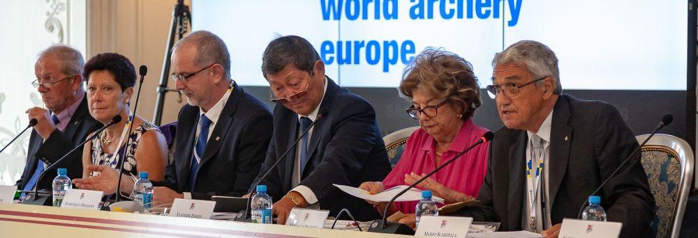 Scarzella re-elected as World Archery Europe President