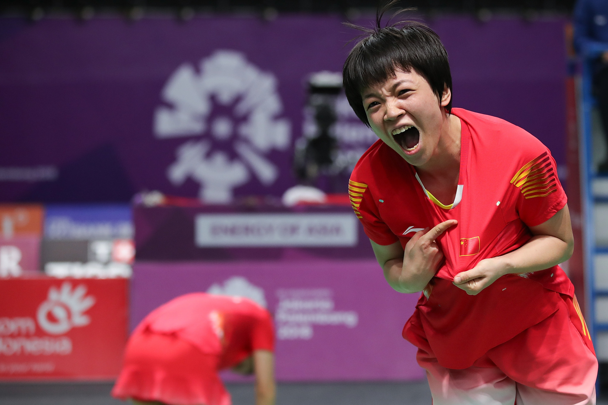 Record seventh win for China in women's badminton doubles at Asian Games