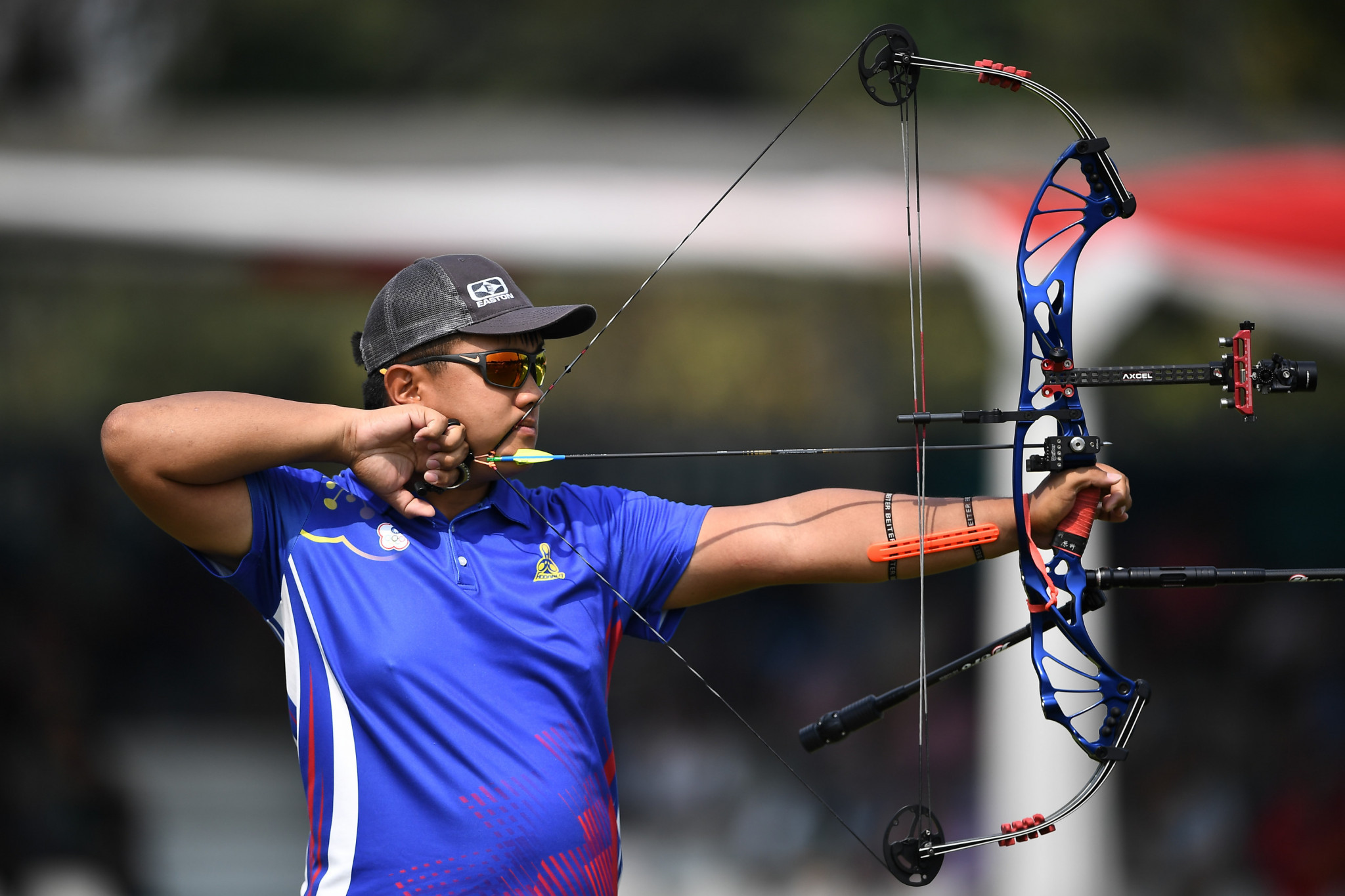 Chinese Taipei won two archery gold medals, in the men's team recurve and mixed team compound ©Getty Images