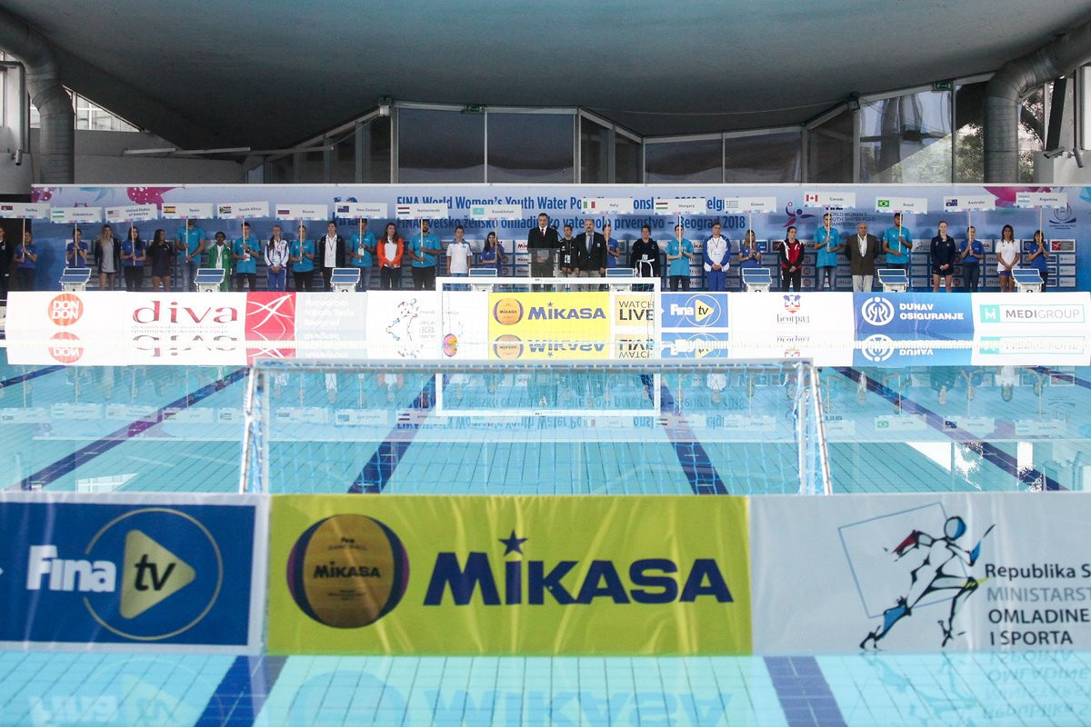 Hosts Serbia suffer opening day defeat at World Women's Youth Water Polo Championships